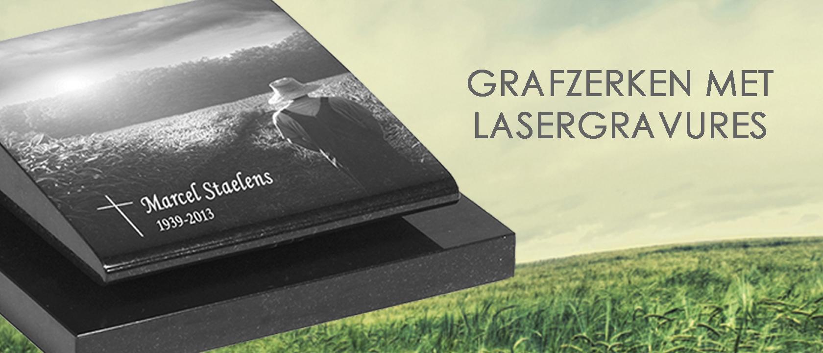 Grafzerken met lasergravure