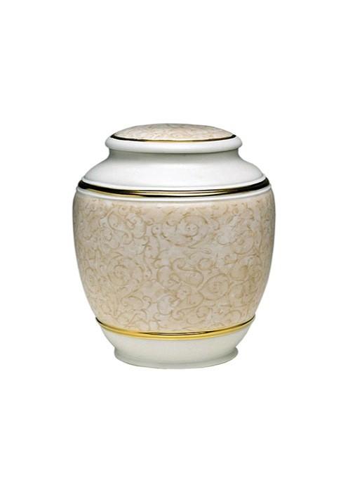 mini urne in porselein UPOLCP10