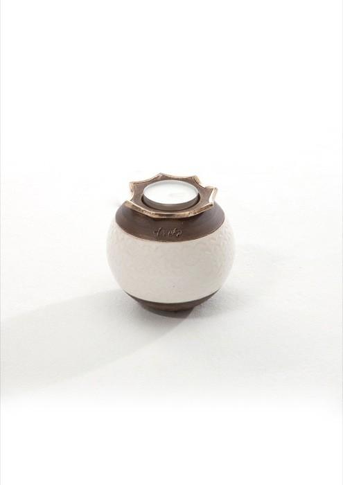 mini urne met theelicht UBVFLOR-RDS-1030