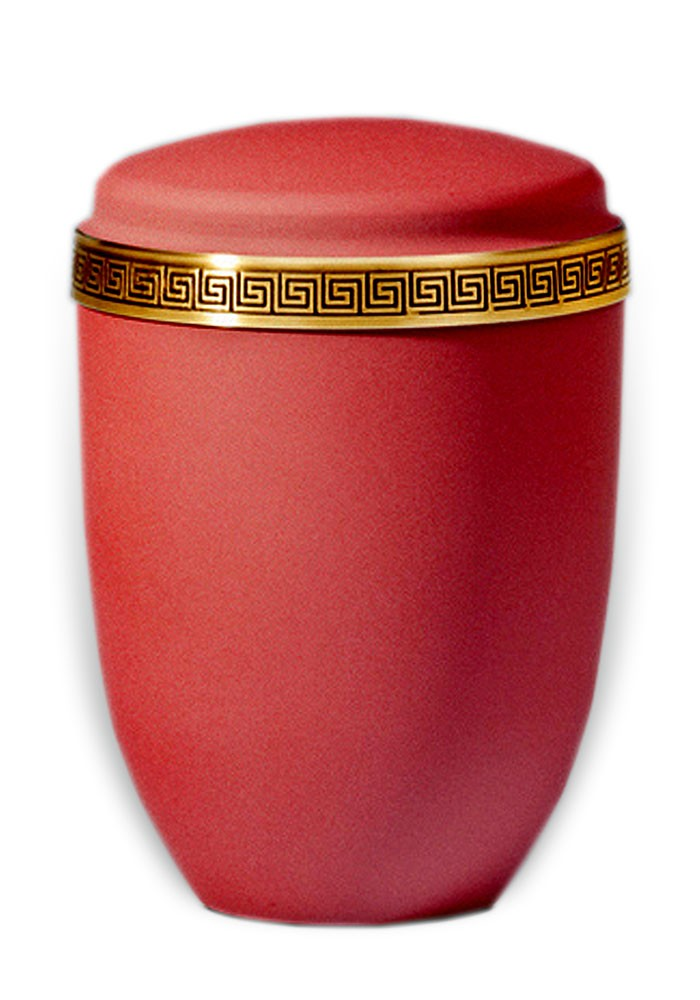 urne in mat metaal UH3374