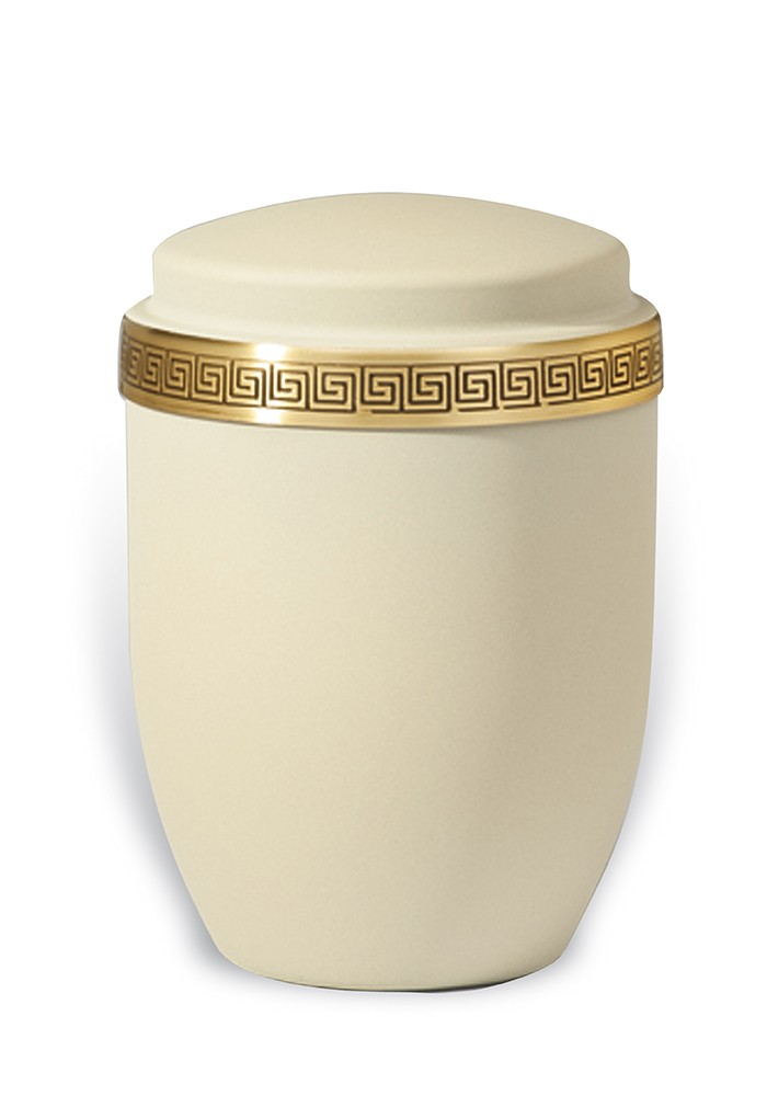 urne in mat metaal UH7322