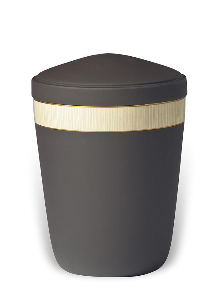 urne in mat metaal UH7821