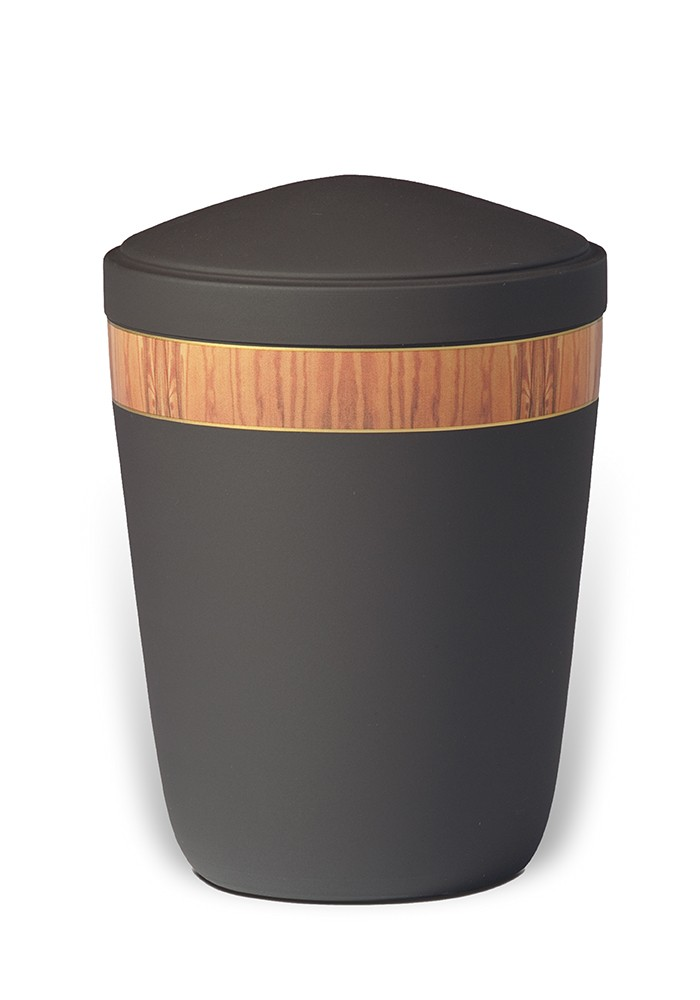 urne in mat metaal UH7822