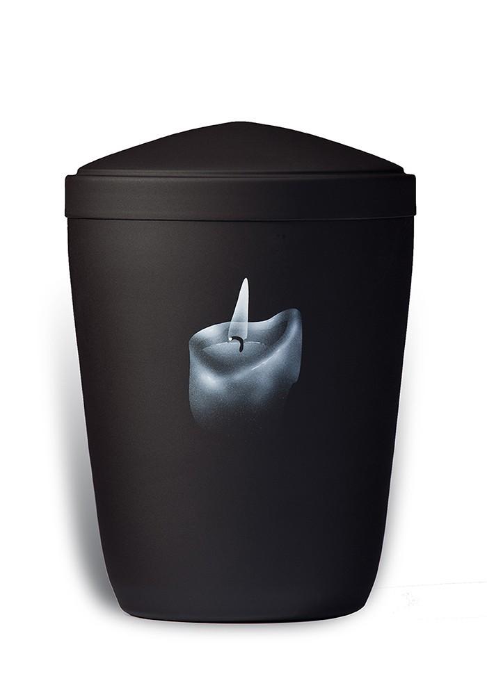 urne in mat metaal UH7826