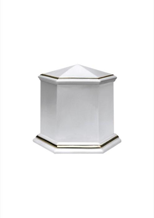 mini urne in porselein UPOLEP36