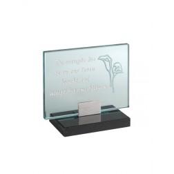 gedenksteen glas A130/B