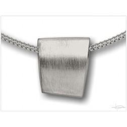 Ashanger zilver DS H004-ZI