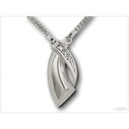 Ashanger zilver DS H012-ZI