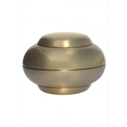 mini urne in blinkend brons P294BRP