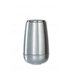 vaas voor columbarium in inox P3334HANBL   13 cm