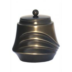 mini urne in antiek messing P605ANTIM