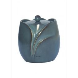 mini urne in groen brons P843GRBL