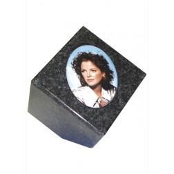 fotoblok in graniet PFR3/MASSIEF | 9 x 9 x 9 cm