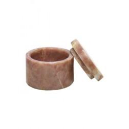 mini urne in roodachtige marmer U131MINI