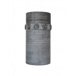 urne in arduin - handgekapte roosjes