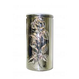 vaas voor columbarium in inox VZ17652   13cm