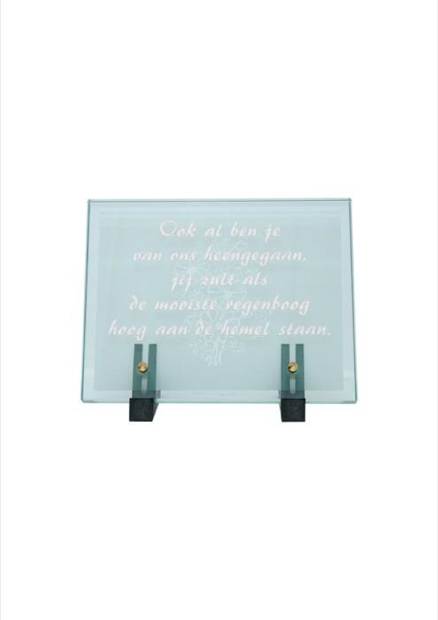 gedenksteen glas A102