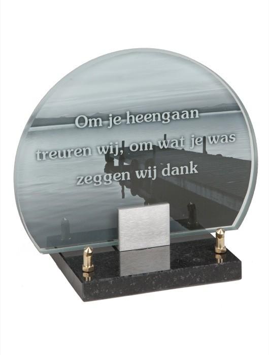 gedenksteen glas A146B