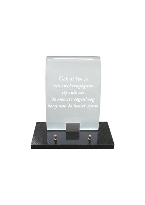 gedenksteen glas A106/C