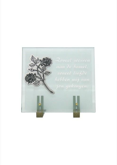 gedenksteen glas A107/A