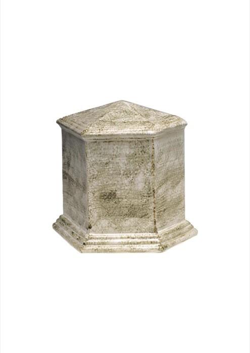mini urne in porselein UPOLEP35
