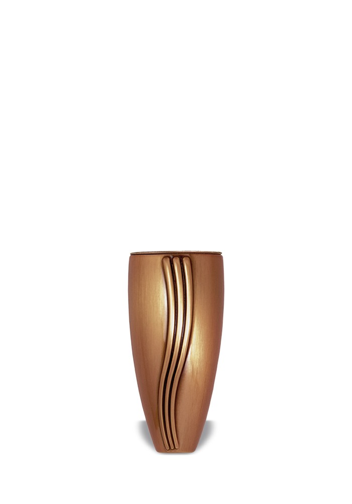 vaas voor columbarium in brons B0121   13 cm
