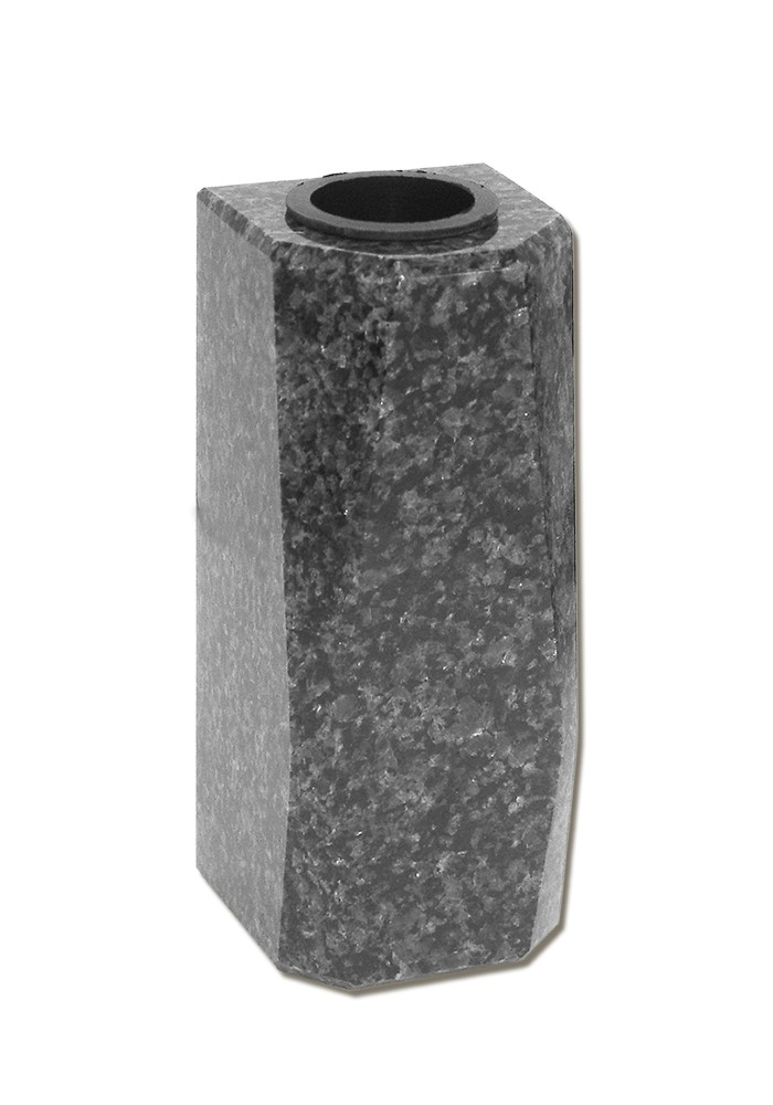 vaas voor columbarium in graniet PMV2   12 cm