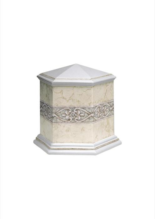 mini urne in porselein UPOLEP30