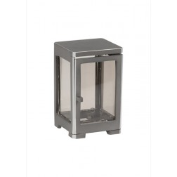 lantaarn graf in aluminium LA0673 | H:12cm B:8x8cm