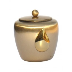 mini urne in blinkend brons P423BRP