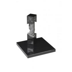 grafzerk urnenveld PUV23 - 12x12x50cm
