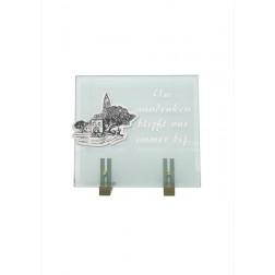 gedenksteen glas A107/C
