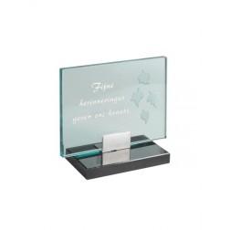 gedenksteen glas A130/D