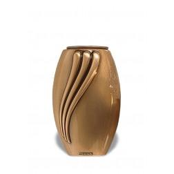 vaas voor columbarium in brons B0257 | 13 cm