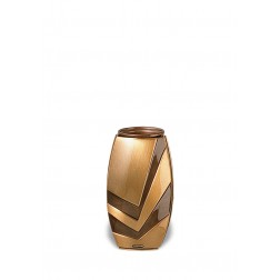 vaas voor columbarium in brons B0262 | 13 cm