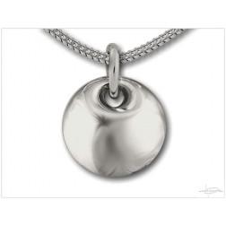 Ashanger zilver DS H001-ZI