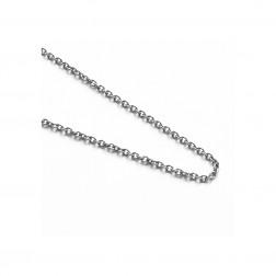 ketting in edelstaal schakelmodel voor rouwjuwelen