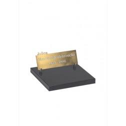grafzerk urnenveld PUV14 - 18x45cm - Brons