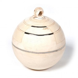 urne precious ceramic artwork UBVCIR-23-11   ALMOST- WHITE    23 cm - 4 l