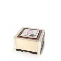 urne precious ceramic artwork UBVCON-BX-1014  23x23x12cm - 4L