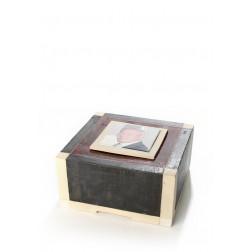 urne precious ceramic artwork UBVCON-BX-1410   23x23x12cm - 4L