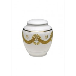 mini urne in porselein UPOLCP14