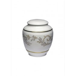 mini urne in porselein UPOLCP15