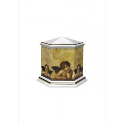mini urne in porselein UPOLEP33