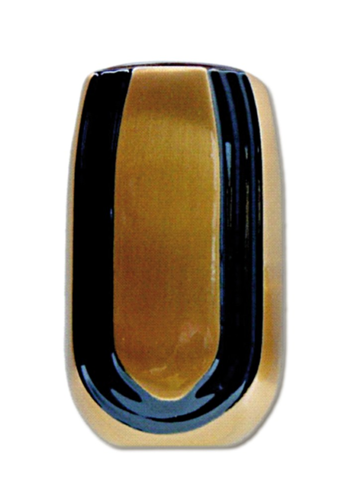 vaas voor columbarium in brons CV427   12 cm