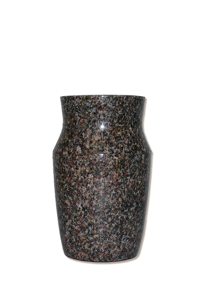 vaas voor columbarium in graniet PMV1D   11 cm