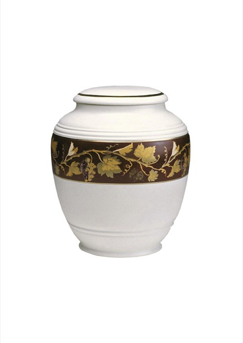 mini urne in porselein UPOLCP17