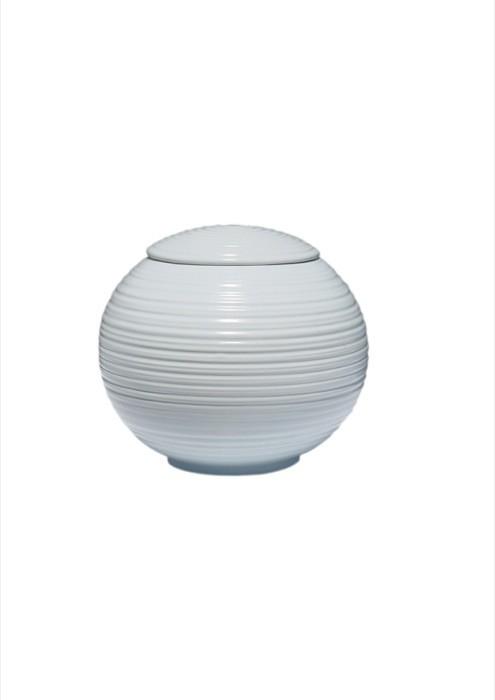 mini urne in porselein UPOLSP05